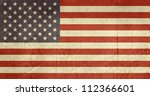 grunge sovereign state flag of... | Shutterstock . vector #112366601