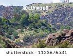 hollywood california   march 25 ... | Shutterstock . vector #1123676531