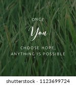best inspirational motivational ... | Shutterstock . vector #1123699724