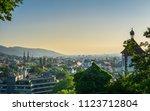 germany  historic swabian city... | Shutterstock . vector #1123712804