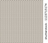 knitted hemp fabric. white... | Shutterstock .eps vector #1123715174