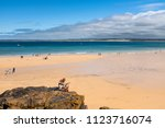 st ives  england   june 18  man ...   Shutterstock . vector #1123716074