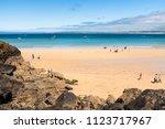 st ives  england   june 18 ...   Shutterstock . vector #1123717967