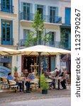 beziers  herault  france   june ...   Shutterstock . vector #1123790267