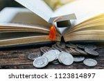 saving money financial concept  ... | Shutterstock . vector #1123814897
