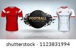 football cup 2018 world... | Shutterstock .eps vector #1123831994