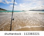 Fixed Fishing Rod Set Up On A...