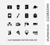 modern  simple vector icon set...   Shutterstock .eps vector #1123833344