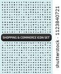 commerce and shopping vector... | Shutterstock .eps vector #1123840721