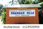 koh phangan  thailand   08 08...   Shutterstock . vector #1123920905