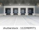 loading docks for trucks at...   Shutterstock . vector #1123989971