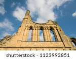 Byland Abbey   Ruins In England