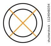 business goal icon | Shutterstock .eps vector #1124048354