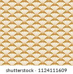 geometric diamond vector... | Shutterstock .eps vector #1124111609