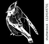 isolated vector illustration of ... | Shutterstock .eps vector #1124145731