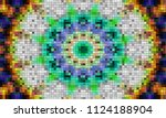 samples of the manufacture of... | Shutterstock . vector #1124188904