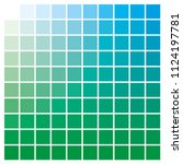 cmyk color chart to use in... | Shutterstock .eps vector #1124197781