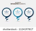 creative infographic elements | Shutterstock .eps vector #1124197817