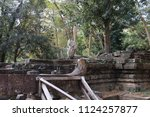 Small photo of Landscape of Beng Mealea of Cambodia