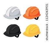 helmet vector collection design | Shutterstock .eps vector #1124263931