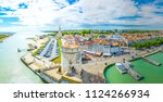 seaside of la rochelle... | Shutterstock . vector #1124266934