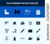 modern  simple vector icon set... | Shutterstock .eps vector #1124270207