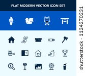 modern  simple vector icon set... | Shutterstock .eps vector #1124270231