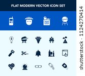 modern  simple vector icon set... | Shutterstock .eps vector #1124270414