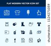 modern  simple vector icon set... | Shutterstock .eps vector #1124271059