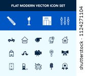 modern  simple vector icon set... | Shutterstock .eps vector #1124271104