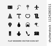 modern  simple vector icon set... | Shutterstock .eps vector #1124280311