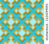 seamless geometric background... | Shutterstock .eps vector #1124299091