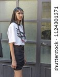 milan  italy   june 16 ... | Shutterstock . vector #1124301371