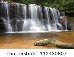 A Long Exposure Of Waterfalls ...