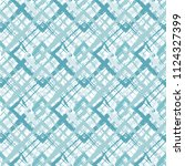 grunge textured rhombs... | Shutterstock .eps vector #1124327399