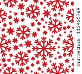 Seamless Winter Pattern With...