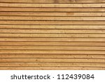 Raw Wood  Wooden Slatted Fence...