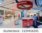 centralworld  bangkok   may 28  ... | Shutterstock . vector #1124416241