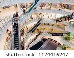 centralworld  bangkok   may 28  ... | Shutterstock . vector #1124416247