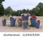 european union. latvia country  ... | Shutterstock . vector #1124425334