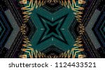 futuristic abstract background | Shutterstock . vector #1124433521