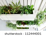 top view of small vertical... | Shutterstock . vector #112444001
