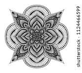 mandalas for coloring  book....   Shutterstock .eps vector #1124466599