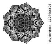 mandalas for coloring  book....   Shutterstock .eps vector #1124466605