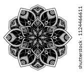 mandalas for coloring  book....   Shutterstock .eps vector #1124466611