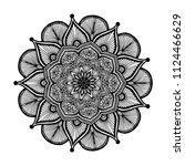 mandalas for coloring  book....   Shutterstock .eps vector #1124466629