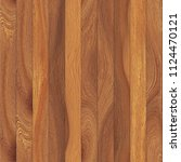 seamless natural wooden planks... | Shutterstock . vector #1124470121