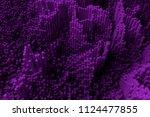 colorful 3d rendering. shape... | Shutterstock . vector #1124477855