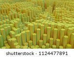 background abstract  geometric... | Shutterstock . vector #1124477891