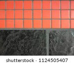 close up photo of red and gray...   Shutterstock . vector #1124505407